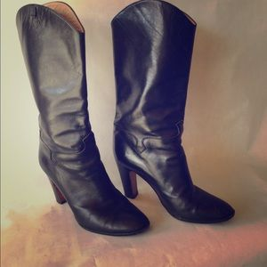Italian Leather Boots 3""